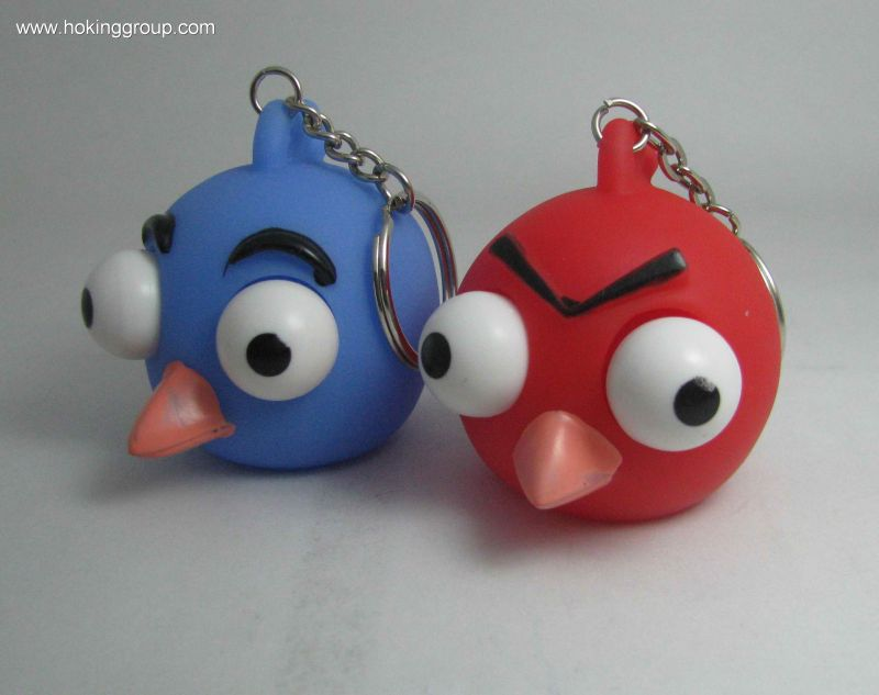 Angry Birds with keychain