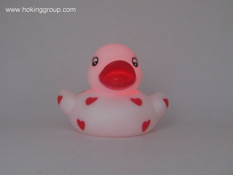 Flashing love duck