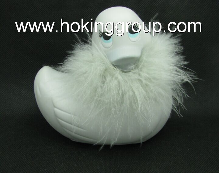 waterproof electric massager vibrating duck