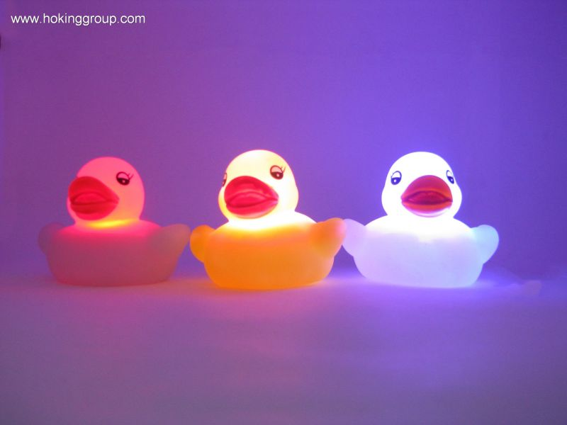 Flashing Family duck
