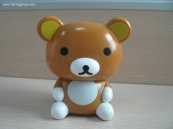 coin bank of bear