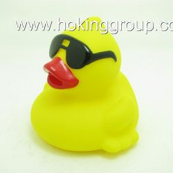 squeaky duck with sunglasses
